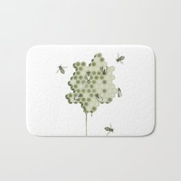 Honeycomb Bath Mat