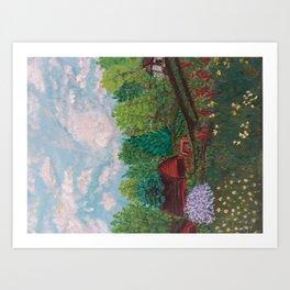 The Sweet farm Art Print