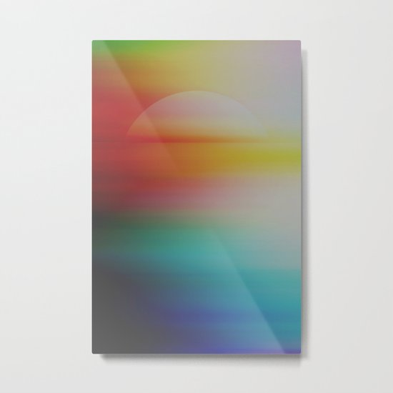 Astral Horizon Metal Print