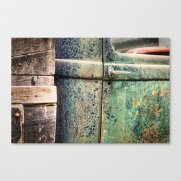 Thirties Pickup Canvas Print