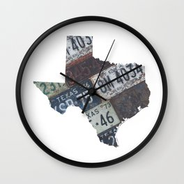 Vintage Texas Wall Clock