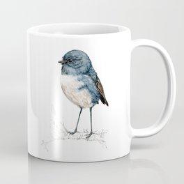 Toutouwai, New Zealand Robin bird Coffee Mug