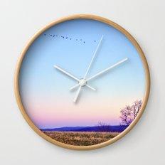 Single File Wall Clock