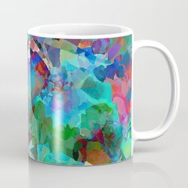 Hawaiian Jungle Batik Coffee Mug