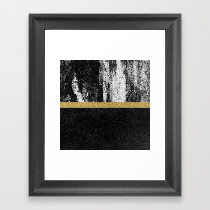 Golden Line  Black