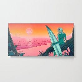 Sweet Summer's Gone Metal Print