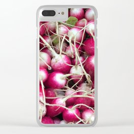 RADishes... Clear iPhone Case