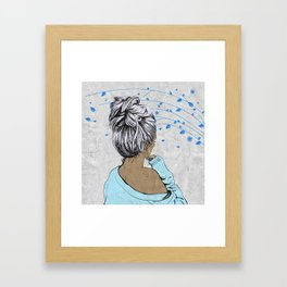 Her Thoughts Framed Art Print