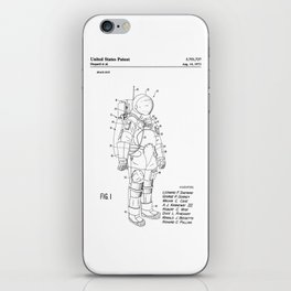 NASA Space Suit Patent iPhone Skin