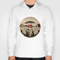 samurai Hoodies featuring samurai by Rosa Picnic