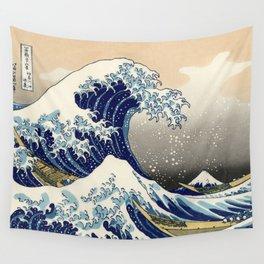 Katsushika Hokusai, The Great Wave off Kanagawa, 1831 Wall Tapestry