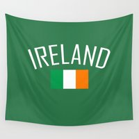 ireland Wall Tapestries featuring Ireland by Earl of Grey