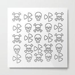Dem Bones Dem Bones Dem Dry Bones 2 Metal Print
