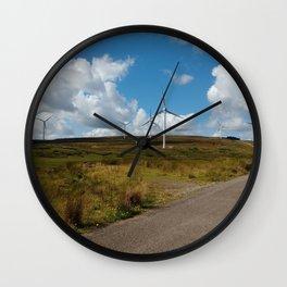 Hill Top Wind Farm Wall Clock