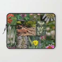 Around the Flower Garden Laptop Sleeve