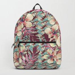 Vintage Hibiscus Ohana Backpack