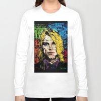 kurt rahn Long Sleeve T-shirts featuring Nevermind Kurt  by brett66