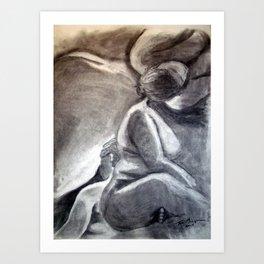 Woman 3 Art Print