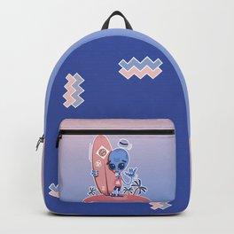 Alien Surf - Serenity & Rose Quartz Backpack