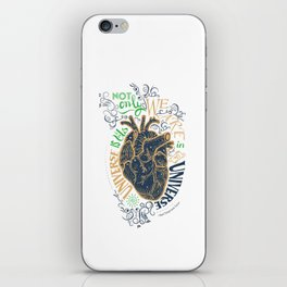 The Universe Is Us. iPhone Skin