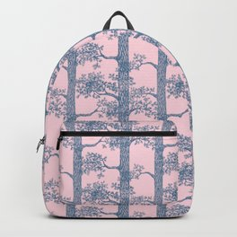 Pine Forest (Pink and Blue) Backpack