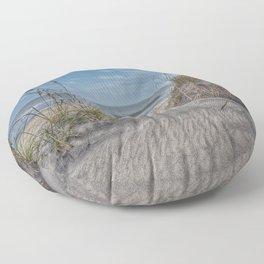 Sand Swirls Floor Pillow