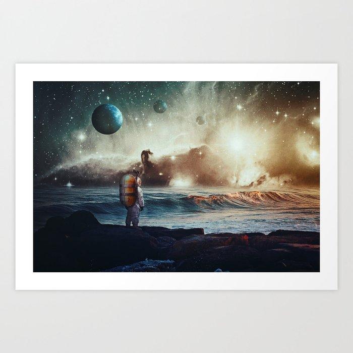 North Star Art Print