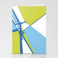 the wire Stationery Cards featuring High Wire by Ryan Johnson