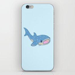 Shocked Little Whale Shark iPhone Skin
