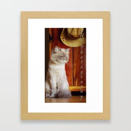 Carli Framed Art Print