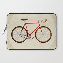 Red Bike Laptop Sleeve
