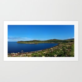 Scotland - Isle of Skye - Uig Art Print