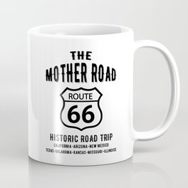 The Mother Road Route 66 - Historic Road Trip Coffee Mug