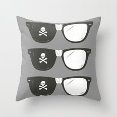 The Smartest Pirate Throw Pillow