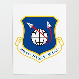 Space Force - Space Wing Poster