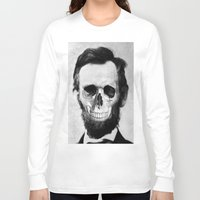 lincoln Long Sleeve T-shirts featuring Lincoln by JoolySalas
