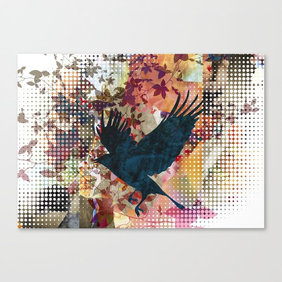 It's time to land.. Canvas Print