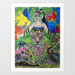 Welcome to the Amazon Art Print