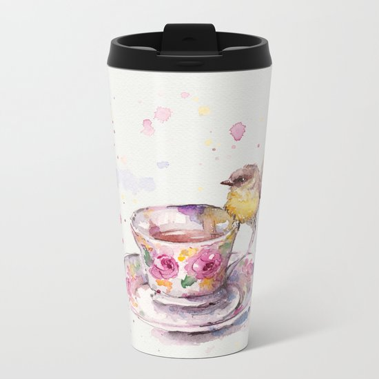 There is always time for tea Metal Travel Mug