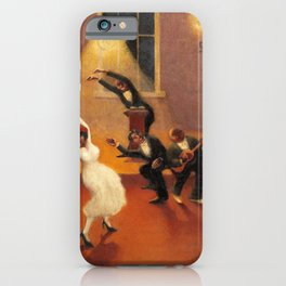 African-American Classical Masterpiece 'Tongues (Holy Rollers)' by Archibald Motley iPhone Case