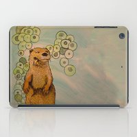 otter iPad Cases featuring Otter by AlexandraDesCotes