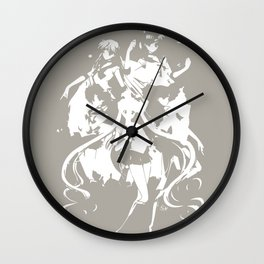Sailor Scouts Wall Clock