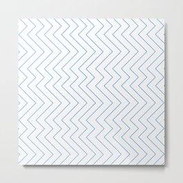 YARA ((true blue)) Metal Print