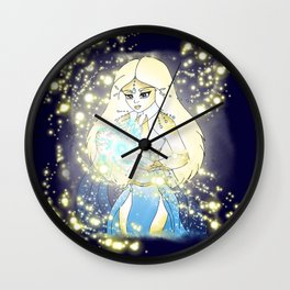 Lita, the Sun Queen Wall Clock