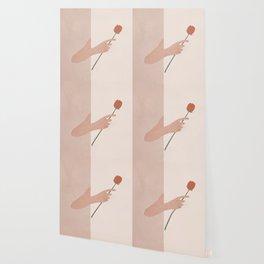 One Rose Flower Wallpaper