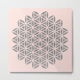 Flower of Life Metal Print