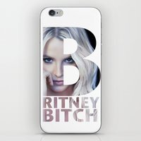 britney iPhone & iPod Skins featuring Britney Bxxch by eriicms