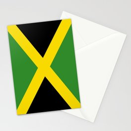 Flag of Jamaica-Jamaican,Bob Marley,Reggae,rastafari,weed,cannabis,ganja,america,south america,ragga Stationery Cards