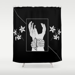 Tied & Nightshade Shower Curtain