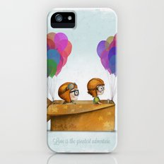 UP Pixar — Love is the greatest adventure  iPhone (5, 5s) Slim Case